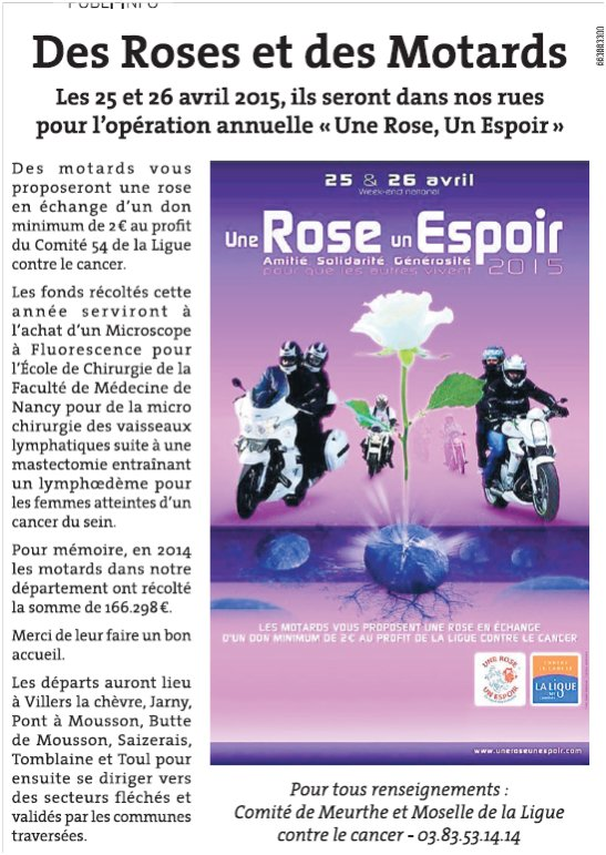 Article rl du 19 avril 2015